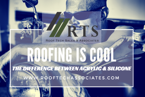 Acrylic or Silicone Reflective Roof Coating - Roof Tech Sales and Associates