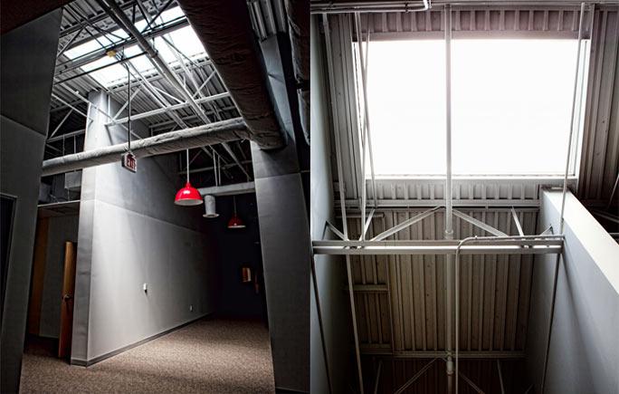 roof tech associated daylighting